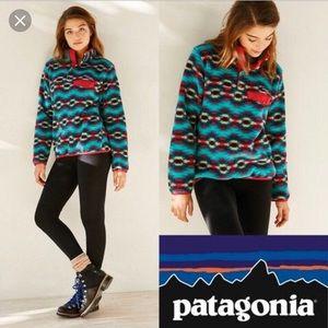 Patagonia Wild Desert Synchilla Aztec Pullover